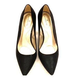 Bandolino black shimmer heels size 9M